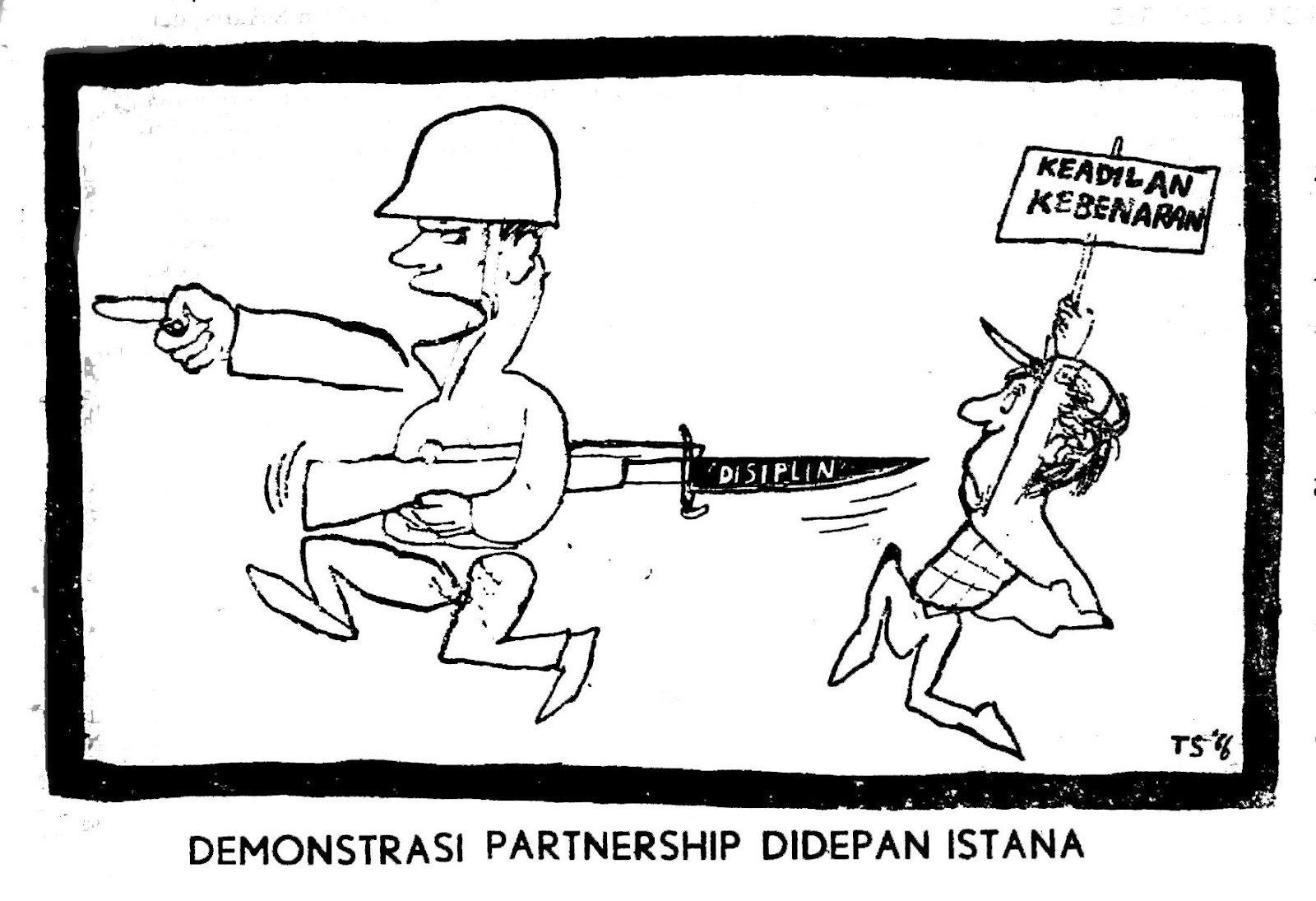 karikatur-demo-mhs