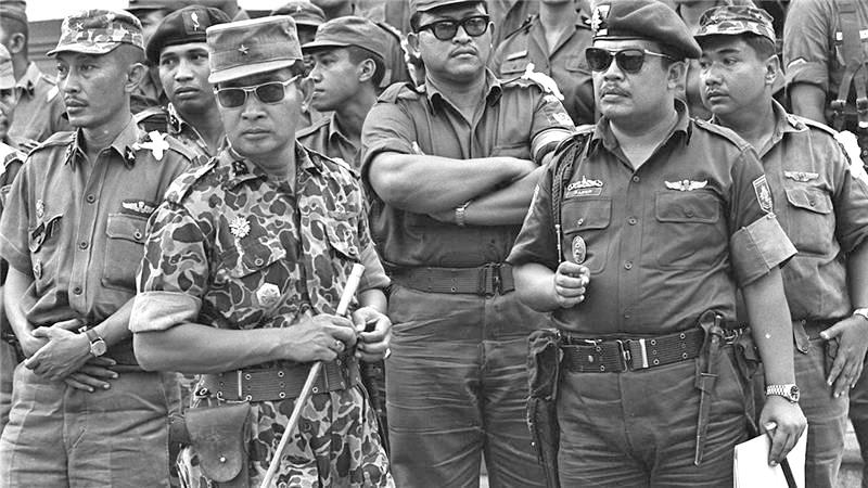 Suharto dan antek-anteknya | Istimewa