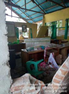 Kondisi setelah gempa   Posko Peduli Sulteng-DIY