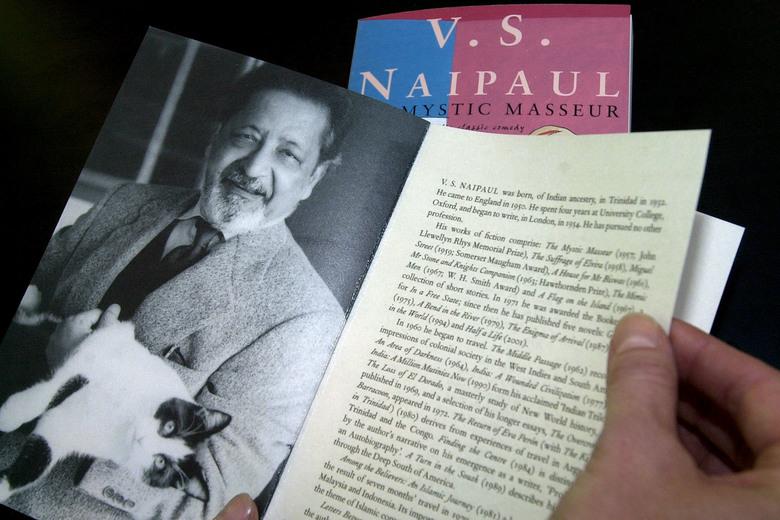 VS Naipaul | Slate.com