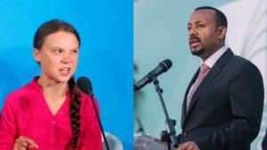 Greta Thunberg | Abey Ahmed