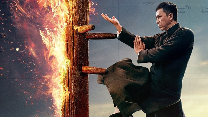 Poster film Ip Man 4