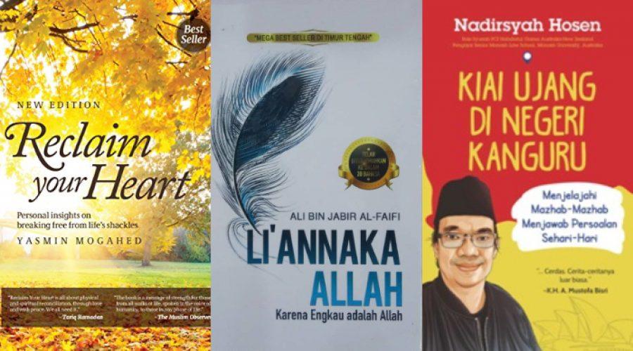 Foto cover 3 buku yang dibahas