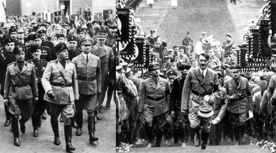 Mussolini dan Hitler | Slate.com & Marxist.com