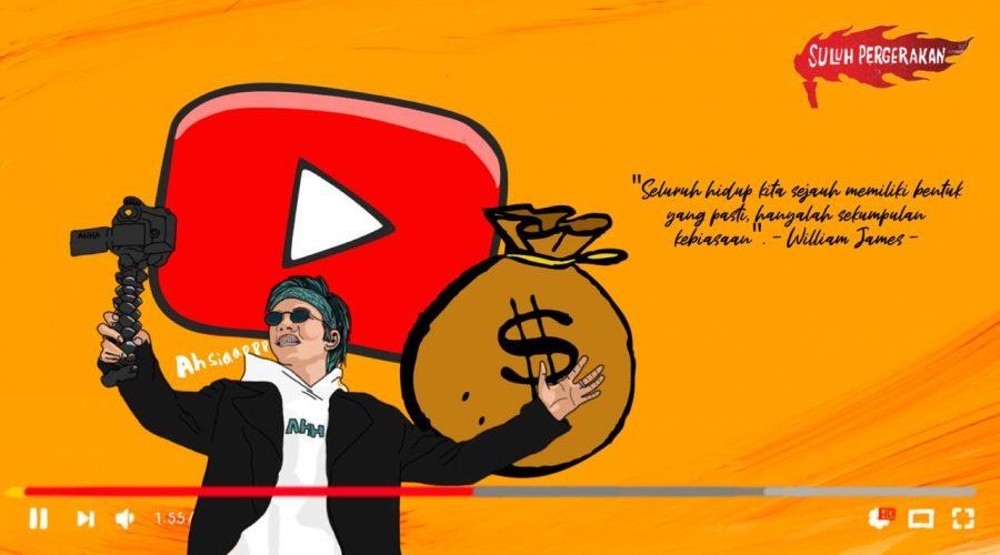 Ilustrasi Atta di layar YouTube | Suluh Pergerakan/Djoko
