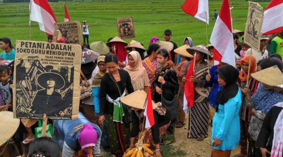 Jaringan Masyarakat Peduli Pegunungan Kendeng (JM-PPK) | Istimewa