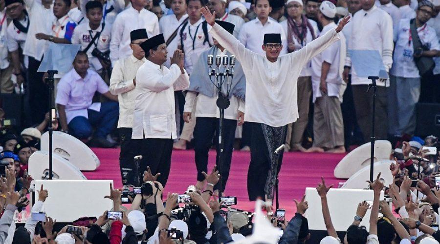Kampanye Prabowo-Sandi di GBK | Antara