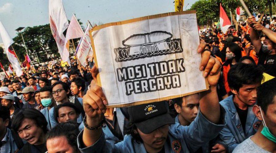 Demonstrasi mahasiswa | Liputan6.com
